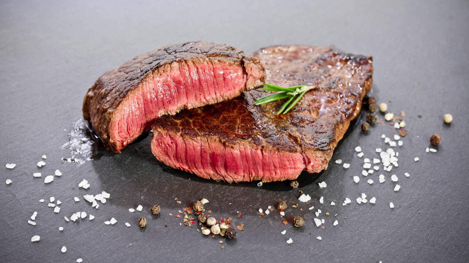 carne cocinada a baja temperatura